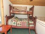Bedroom 4 Queen Twin Bunk in Gameroom