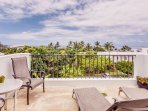 A second lanai, open to the sky. Catch some rays or view the night sky
