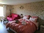 Chambre 1 avec canapé-lit
