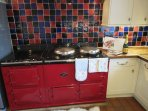 Aga with additional Electric oven