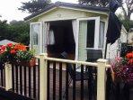 Decking and patio doors