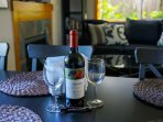 Relax and enjoy a bottle of Washington wine at the end of your day