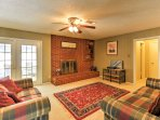 Gather in this living area for quality time with the whole group.
