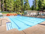 For an additional fee, you may use the community amenities offered at Blue Lake Springs.