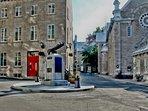 La Maison Ursulines, jest across rue Donaconna from the Ursulines Monastery