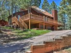 A rejuvenating retreat awaits at this 3BR, 2-bath Woodland Park vacation rental.