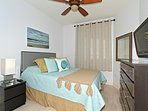 Queen Size Guest room that your guest will love! Lots of Storage...