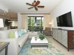 Come and Relax in this beautifully Remodeled condo where elegance and comfort will thrill you