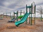 The kids will love running around on the playground!