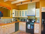 Efficient and well equipped southwest kitchen