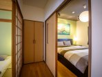 Each bedroom has a separate entrance to ensure guest privacy.