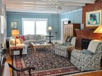 Homey decor welcomes you for a comfortable stay.