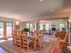 Artfully designed living space immerses you in Taos' rich culture.