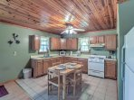 Utilize the fully equipped kitchen to prepare some of your favorite home-cooked meals.
