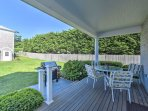 Sip your morning coffee on the spacious front porch.