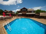 On sunny summer days, you'll love hanging out by the community pool!