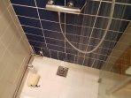 'I  Love  Water'  shower
