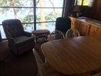 Lake View Seating Inside!