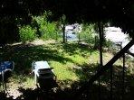 Jardin clos bordure rivière