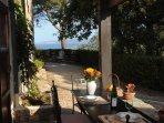 sea view from the veranda