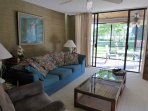 Living Area and Lanai