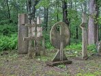 The spacious yard consists of a 2-acre sculpture garden, serving as an inspirational art space for over 50 years and ...