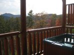 After a day of exploring, relax on your own private deck and take in the beautiful mountains & stars