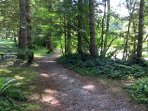 Trail in the Snowater Community.
