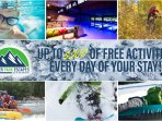 We include $200 of free activities per day at some of the most popular attractions in the area