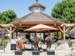 The Front Street Gazebo has local entertainment for your enjoyment