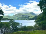 Stunning Ullswater - ideal day out when staying at Dunkeld Cottage