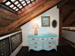 Loft bedroom - other side of room