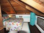 Loft Bedroom - queen one side of room
