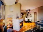 Overview of 1 bedroom 'Pied-a-Terre' suite