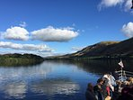 Take a Boat Trip on Ullswater!  Ideal day out when staying at Dunkeld Cottage