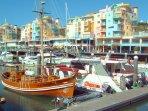 Albufeira's Marina