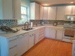 Updated kitchen with dishwasher