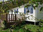 mobile home 'lodge normand' 4 personnes