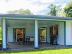 Mama Papai is a well equipped 3 bedroom vacation rental home just outside of Pahoa Village.