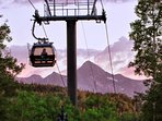 The gondola is a convenient form for transportation into town - just minutes from your door.