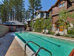 Soak up the mountain sunshine and take a dip in the pool - available during summer months.