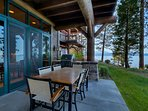 Enjoy the best BBQ spot on the lake, just outside your back door.  The Viking professional grill is perfect for...