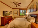 The finely appointed bedrooms all feature top quality beds, bedding and linens.