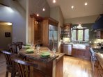 This big, big kitchen with granite countertops and high-end appliances has all you'll ever need to prepare a delicious...