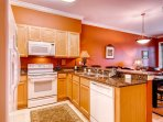 We're sure you'll make great use of the granite counters and quality appliances.