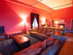 Great Room - various comfortable areas to relax after exploring the beautiful Caithness coastline.