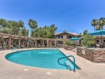 Splash around in the community pool at this Scottsdale vacation rental!