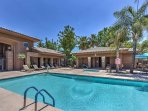Take a dip in the community pool to beat the Arizona heat!