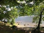 Strolling along Ullswater