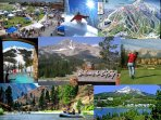 Big Sky spectacular in ever season. Take a day trip to Yellowstone Park, river raft/horse back/golf.